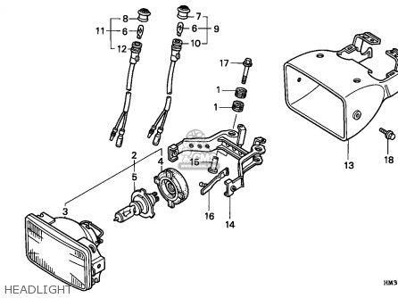 Honda Trx300ex Fourtrax 1997 U.s.a (except California