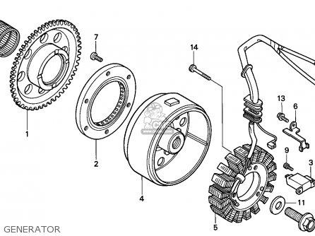 Honda TRX300EX FOURTRAX 1997 (V) USA parts lists and