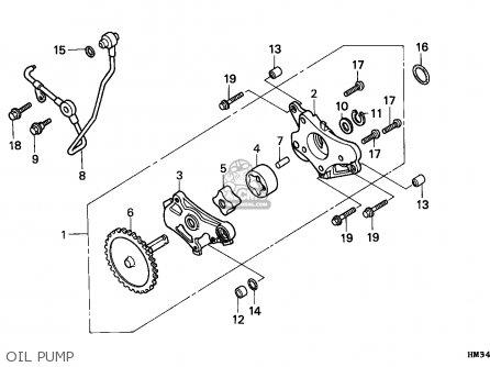 Honda Trx300ex Fourtrax 1997 (v) Usa parts list
