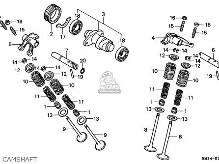 Honda TRX300EX FOURTRAX 1999 (X) USA parts lists and