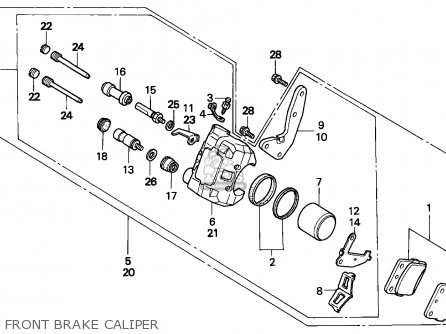 Honda TRX300EX FOURTRAX 2000 (Y) CANADA parts lists and