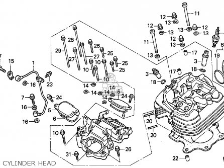 95 Honda Atv Engine Diagram Bombardier Engine Diagram