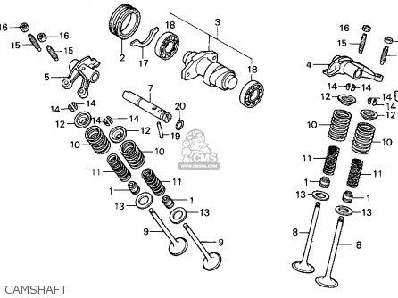Honda Trx300ex Fourtrax 300ex 1995 (s) Usa parts list
