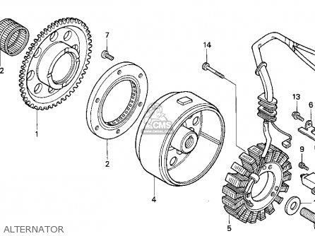 Honda TRX300EX FOURTRAX 300EX 1997 (V) USA parts lists and
