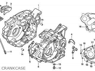 Honda TRX300EX SPORTRAX 2005 (5) CANADA parts lists and