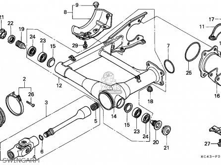 Honda fourtrax 300 body parts