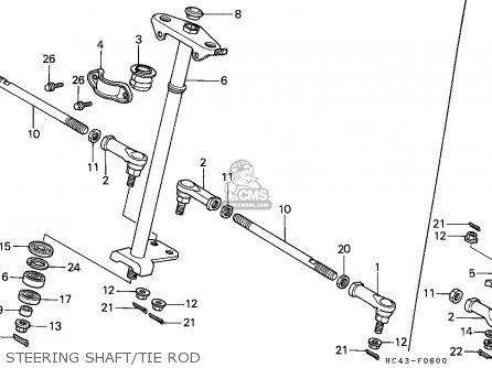 Honda Trx300fw Fourtrax 1991 Canada parts list partsmanual