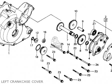 Honda Trx300fw Fourtrax 4x4 1988 (j) Usa parts list
