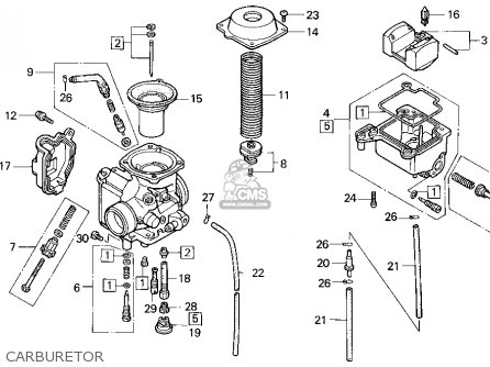 Honda Trx300fw Fourtrax 4x4 1992 Usa parts list