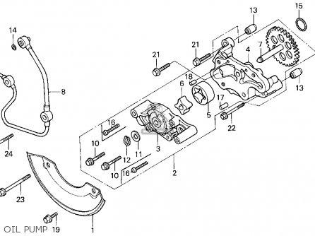 Honda Trx300fw Fourtrax 4x4 1993 (p) Usa parts list