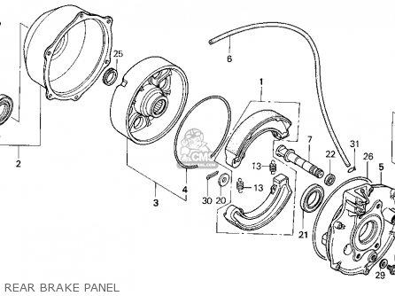 Honda TRX300FW FOURTRAX 4X4 1994 (R) USA parts lists and