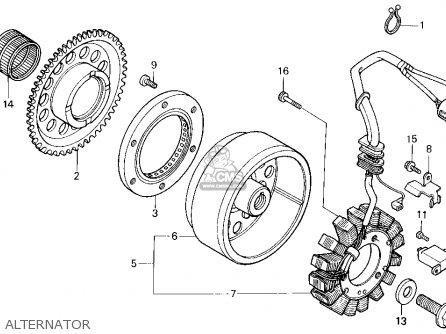 Honda Trx300fw Fourtrax 4x4 1995 (s) Usa parts list