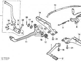 Honda TRX300FW FOURTRAX 4X4 1996 (T) USA parts lists and