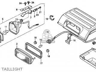 Honda Trx300fw Fourtrax 4x4 1996 (t) Usa parts list