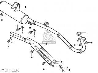 Honda Trx300fw Fourtrax 4x4 1996 Usa parts list