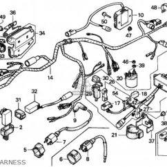 Honda Trx 300 Wiring Diagram 12v Circuit Breaker 1991 10 4x4 Database Trx350 Fourtrax M Canada Sul Parts Lists And Schematics Chevy S10 Pickup Source Repair Guides Diagrams