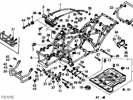 1986 Honda 350 Fourtrax Fuel Pump Diagram. Honda. Wiring