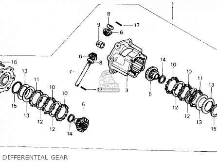 Honda TRX350 FOURTRAX 4X4 1987 (H) USA parts lists and schematics