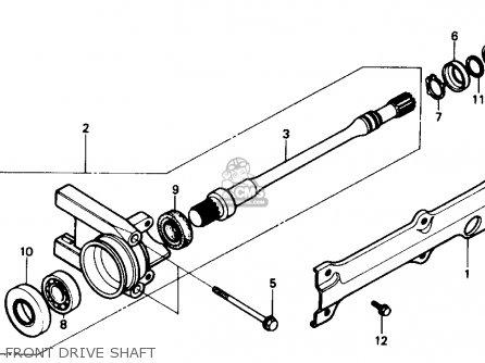 Honda Trx350d Fourtrax Foreman 4 X 4 1989 (k) Usa parts