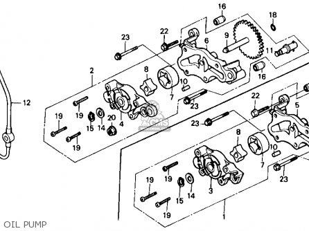 Honda TRX350D FOURTRAX FOREMAN 4X4 1987 (H) USA parts
