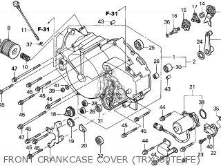 Honda TRX350FE FOURTRAX 2004 (4) AUSTRALIA TYPE 2 parts