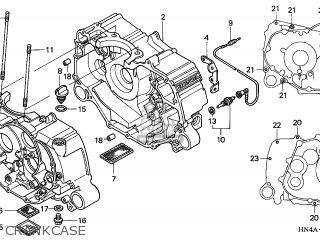 Honda TRX350FE3 FOURTRAX 350 4X4ES 2003 (3) AUSTRALIA CMF
