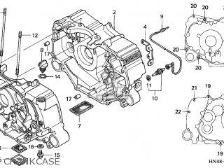 Honda TRX350FM FOURTRAX 2005 (5) AUSTRALIA parts lists and