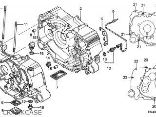 Honda TRX350FM1 FOURTRAX 350 4X4ES 2001 (1) USA parts