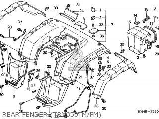Honda TRX350FM2 RANCHER 4X4 2002 (2) USA parts lists and