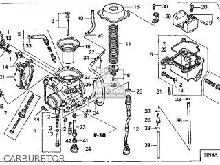Honda TRX350TE 2003 (3) USA parts lists and schematics