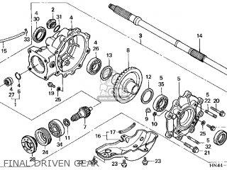 Honda TRX350TE FOURTRAX RANCHER ES 2000 (Y) USA parts