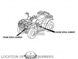 Honda TRX350TM 2006 (6) USA parts lists and schematics