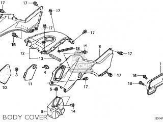 Honda TRX350TM FOURTRAX 2006 (6) AUSTRALIA parts lists and