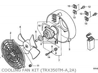 Honda TRX350TM3 RANCHER 2003 (3) USA parts lists and
