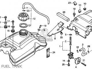 Honda TRX400EX 2006 (6) USA parts lists and schematics