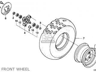 Honda TRX400EX FOURTRAX 400 EX 2000 (Y) USA parts lists