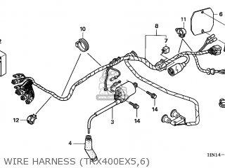 Honda TRX400EX SPORTRAX 2005 (5) AUSTRALIA CMF SLS parts