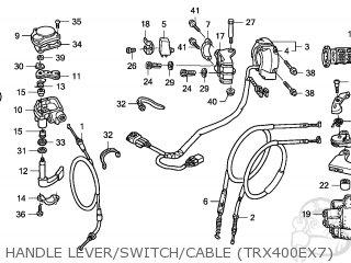 Honda TRX400EX SPORTRAX 2007 (7) AUSTRALIA / CMF parts