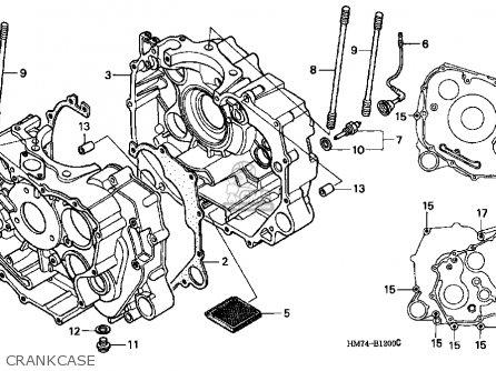 Honda TRX400FW 1996 (T) USA parts lists and schematics