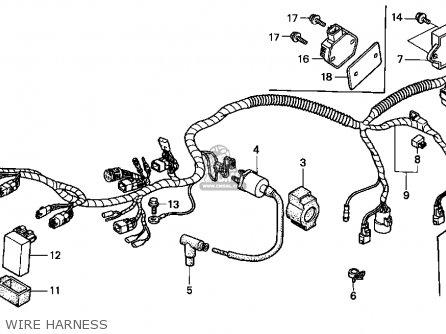 Honda TRX400FW 1999 (X) USA parts lists and schematics