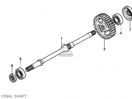 Honda TRX400FW 2000 (Y) USA parts lists and schematics