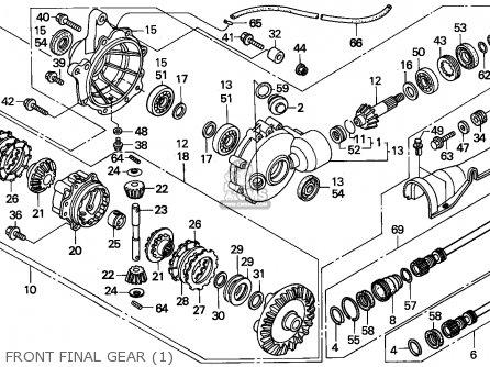 Honda TRX400FW FOURTRAX 1996 (T) AUSTRALIA HOR parts lists