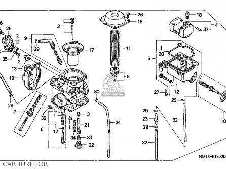 Honda TRX400FW FOURTRAX 1996 (T) CANADA parts lists and