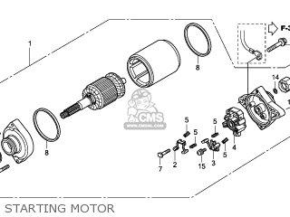 Honda TRX420FM 2011 (B) EUROPEAN DIRECT SALES / 4WD parts