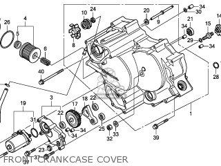 Honda TRX420FMB 2011 (B) AUSTRALIA TYPE 2 4WD parts lists