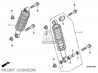 Honda TRX420FPA 2011 (B) AUSTRALIA / PS parts lists and