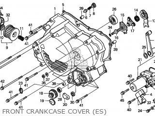 Honda TRX450ES FOURTRAX 1998 (W) USA MPH parts lists and