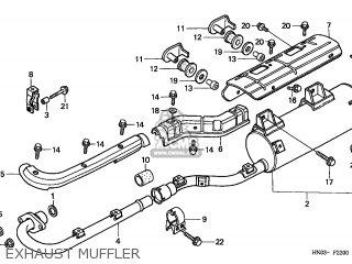 Honda TRX450ES FOURTRAX 1999 (X) USA MPH parts lists and