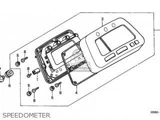 Honda TRX450ES FOURTRAX 2001 (1) CANADA REF parts lists