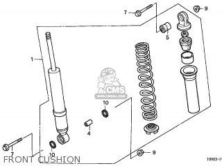 Honda TRX450ES FOURTRAX 2001 (1) UNKNOWN SLS parts lists